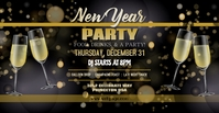 NYE Party Facebook template