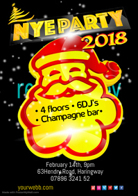 NYE Party Poster