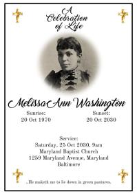 Funeral Obituary 3