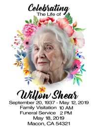 Obituary Template Design