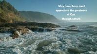 Ocean Facebook Cover Video (16:9) template