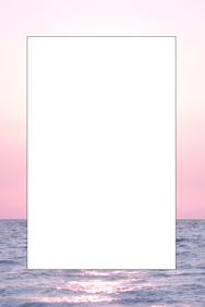 Ocean Party Prop Frame
