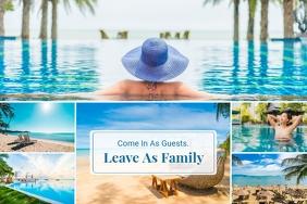 Ocean Resort Family Collage