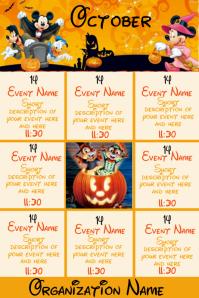 October Events - Disney Halloween