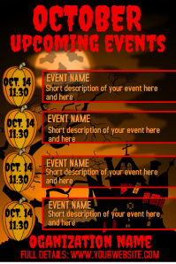 October Upcoming Events