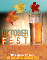 Oktoberfest Beer Festival Flyer Template