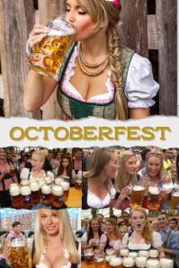 Octoberfest Poster template