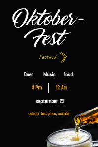 octoberfest festival poster