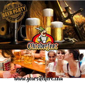 OCTOBERFEST234 Instagram Post template