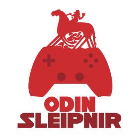 Odin Sleipnir Gamer Logo template
