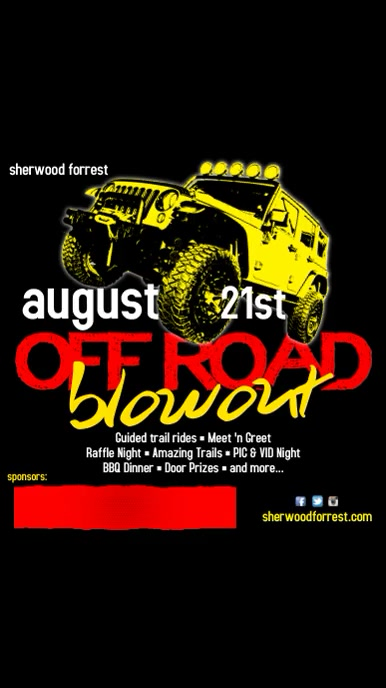 Off Road Blowout Event Template Digitale display (9:16)