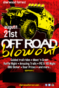 Off Road Blowout Poster