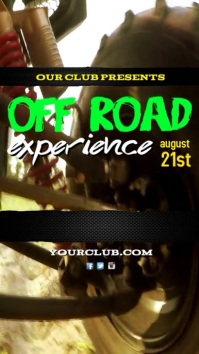 Off Road Experience Template Digital na Display (9:16)