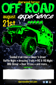 Off Road Experience Poster