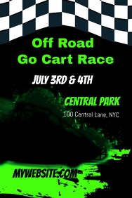 Off Road Go Cart Race Template