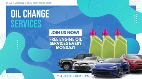 Oil Change Service Digital Display Ad