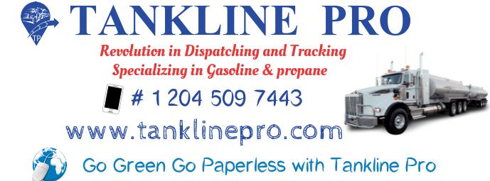 oil tank dispatch Facebook-omslagfoto template