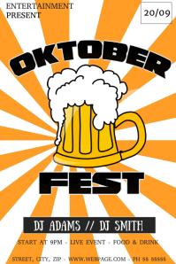 Oktober fest flyer template