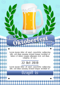 Oktober fest party flyer template