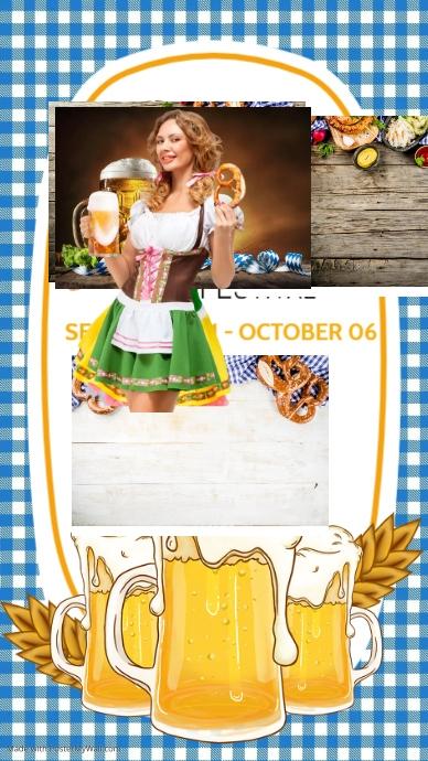 Oktoberfest,fest,beer festival,event Indaba yaku-Instagram template