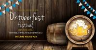 Oktoberfest,fest,beer festival,event รูปภาพที่แบ่งปันบน Facebook template
