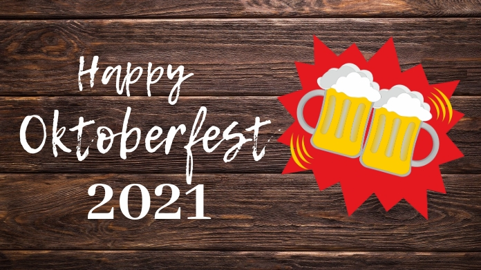 Oktoberfest,fest,beer festival,event Twitter-opslag template
