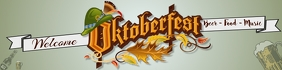 Oktoberfest Banner Template