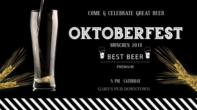 Oktoberfest Beer Digital Display Video