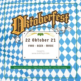Oktoberfest Beer Garden Event Video Advert