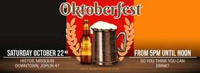 Oktoberfest Beer Party Facebook cover Template