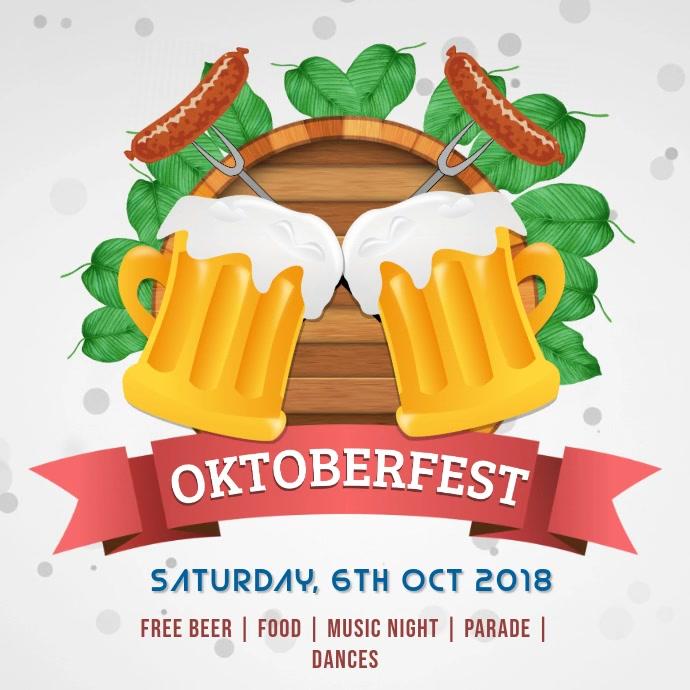 Oktoberfest Celebration Bar Instagram Video Template