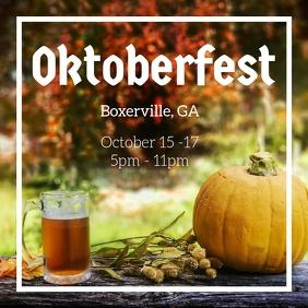 Oktoberfest Craft Beer Festival post template