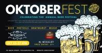 Oktoberfest Facebook Shared Image template