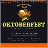Oktoberfest Instagram Post template