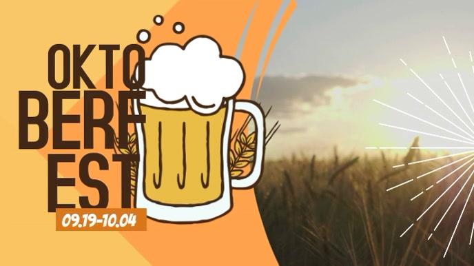 Oktoberfest Digital Display Video