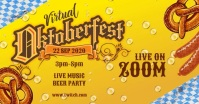 Oktoberfest event Sampul Acara Facebook template