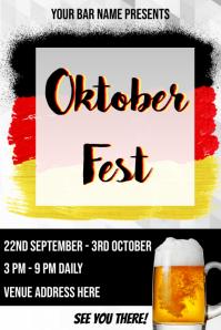 Oktoberfest Event Flyer Template