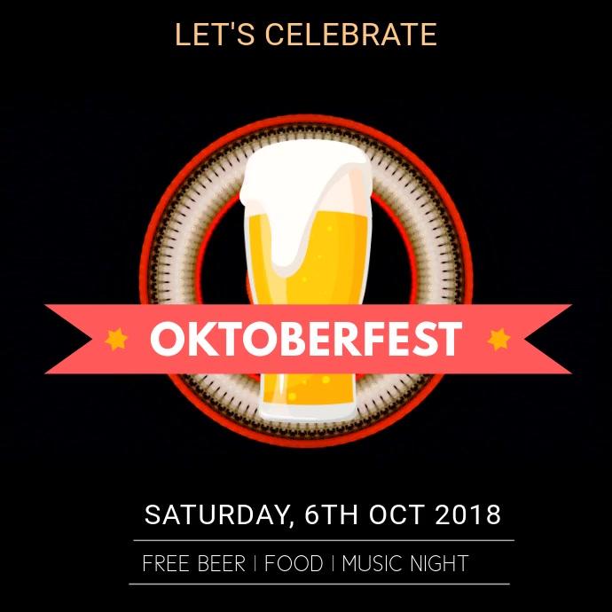 Oktoberfest Event Video Template
