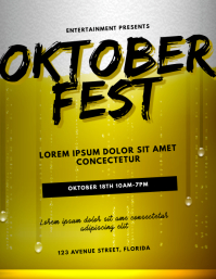 Oktoberfest Flyer Design Template