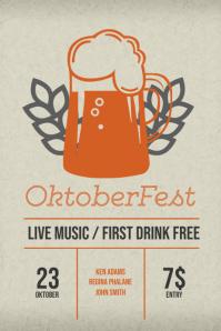 Oktoberfest Flyer Design Template