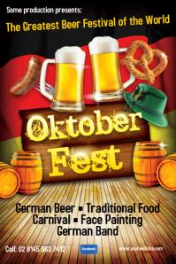 Oktoberfest Flyer Templates | PosterMyWall