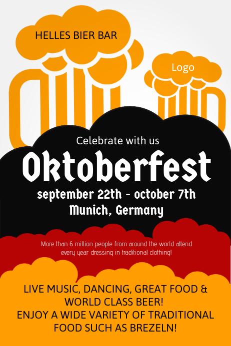 customize 380  oktoberfest flyer templates