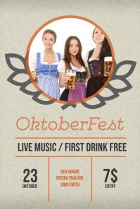 Oktoberfest Flyer Template