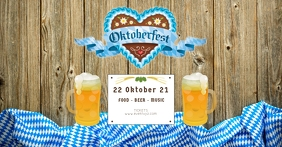 Oktoberfest Header Banner Event Promo Advert template