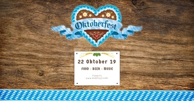 Oktoberfest Header Banner Event Promo Advert