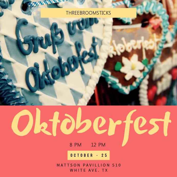 Oktoberfest Instagram Template