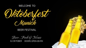 Oktoberfest Munich Digital Display Video template