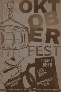 Oktoberfest October Festival Beer Drinking Bar Party Brew