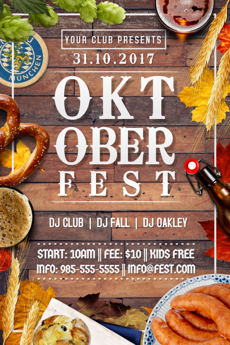 Oktoberfest October Festival Beer Drinking German Party Brew