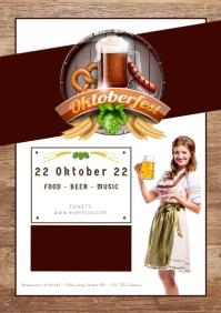 Oktoberfest October Party German Beer Garden